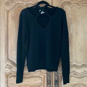 Pam & Gela black sweatshirt
